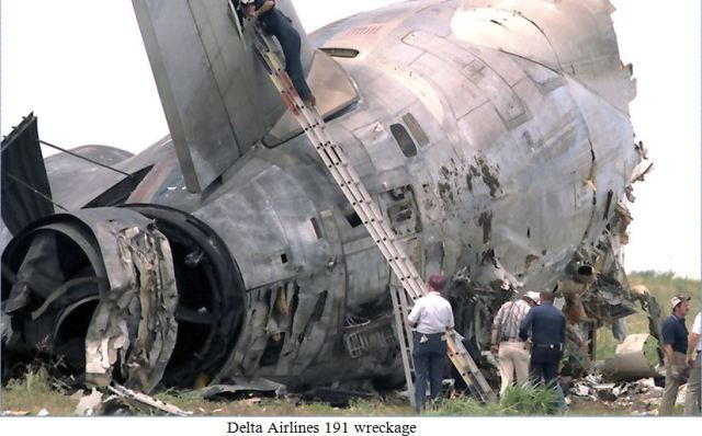 dl 191 wreckage
