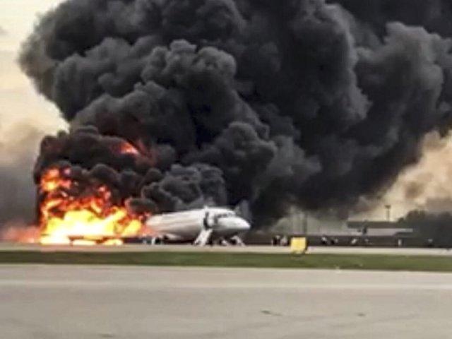 superjet crash moscow